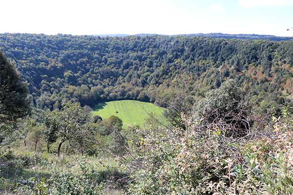 dolina pozzantina - peschici - locanda della castellana